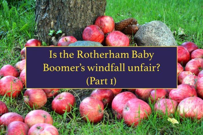 Rotherham baby boomers windfall
