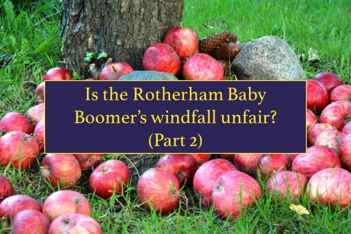 Rotherham property windfall